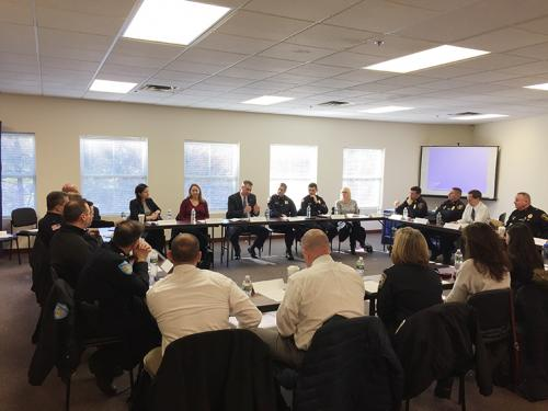 The Middlesex Sheriff's Office recently held a gathering of countywide Data-Driven Justice (DDJ) Initiative partners.