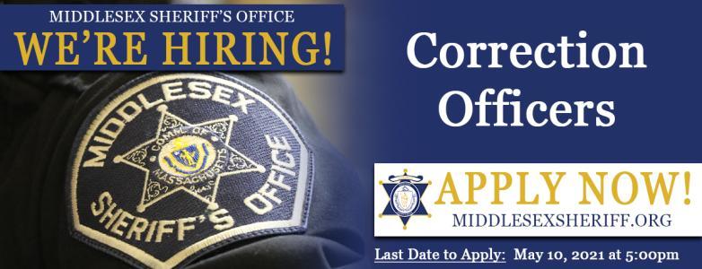 Register for the 2021 Correction Officer Exam